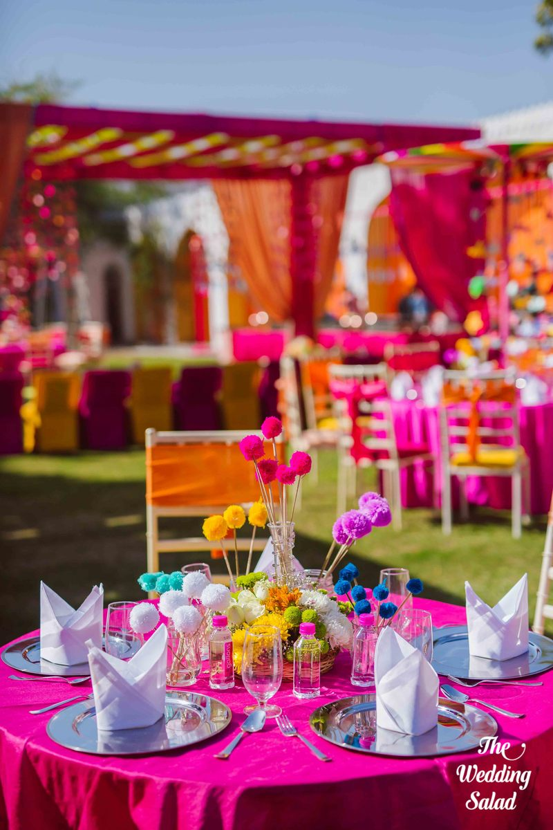 All the kitschy details from purva shivams mehendi decor the decor is in the details junglespirit Gallery