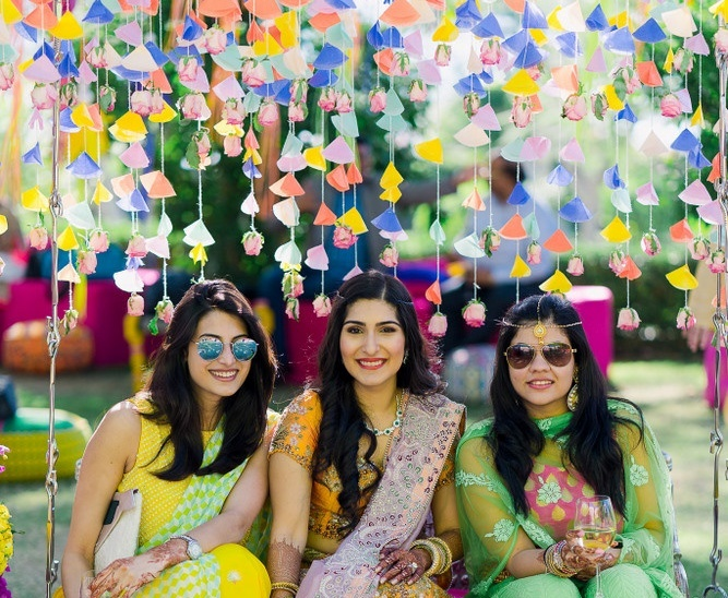 37 DIY Decor Ideas For Your Mehendi (And We Show You How