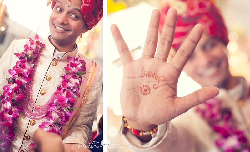 Mehndi Ideas For Groom : Minimalistic mehendi designs that you need to show your groom