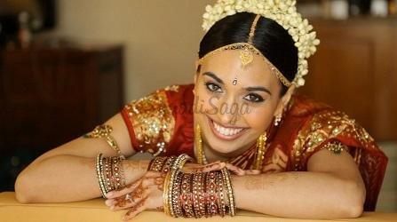 Mehndi Bride Makeup : South indian portfolio kausar bridal studio makeup artists
