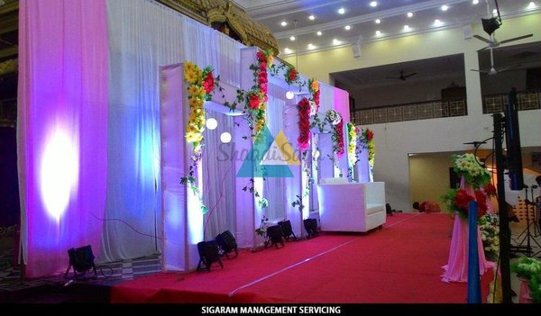 Wedding decorations portfolio sigaram management servicing get quote from vendor junglespirit Gallery