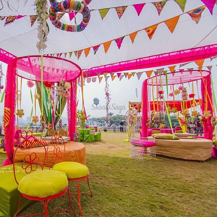 11 Colour Combinations For Your Mehendi Function That You