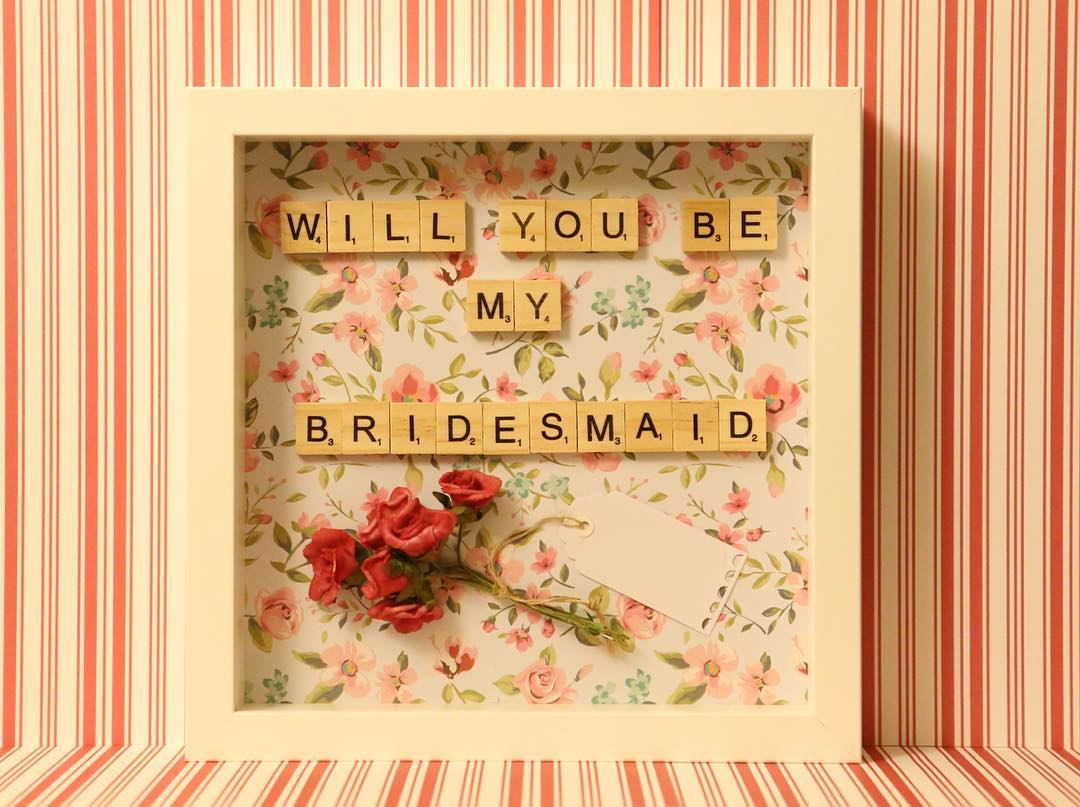 Bridesmaid Picture Frames Diy Picture Frame Ideas