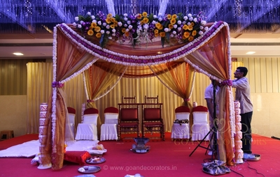 Goan wedding decorators wedding decorators in goa shaadisaga junglespirit Images