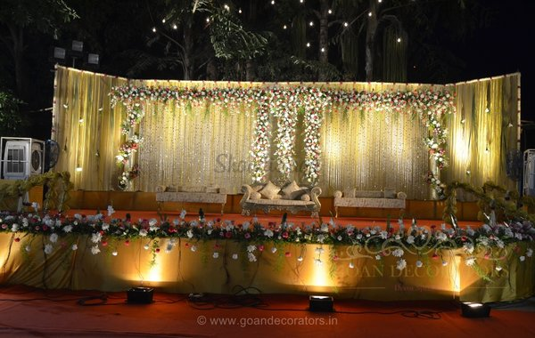 Outdoor decoration portfolio goan wedding decorators wedding get quote from vendor junglespirit Gallery