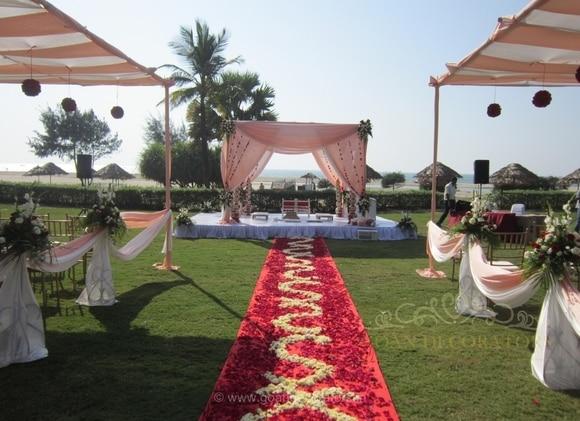 Goan wedding decorators wedding decorators in goa shaadisaga goan wedding decorators junglespirit Images