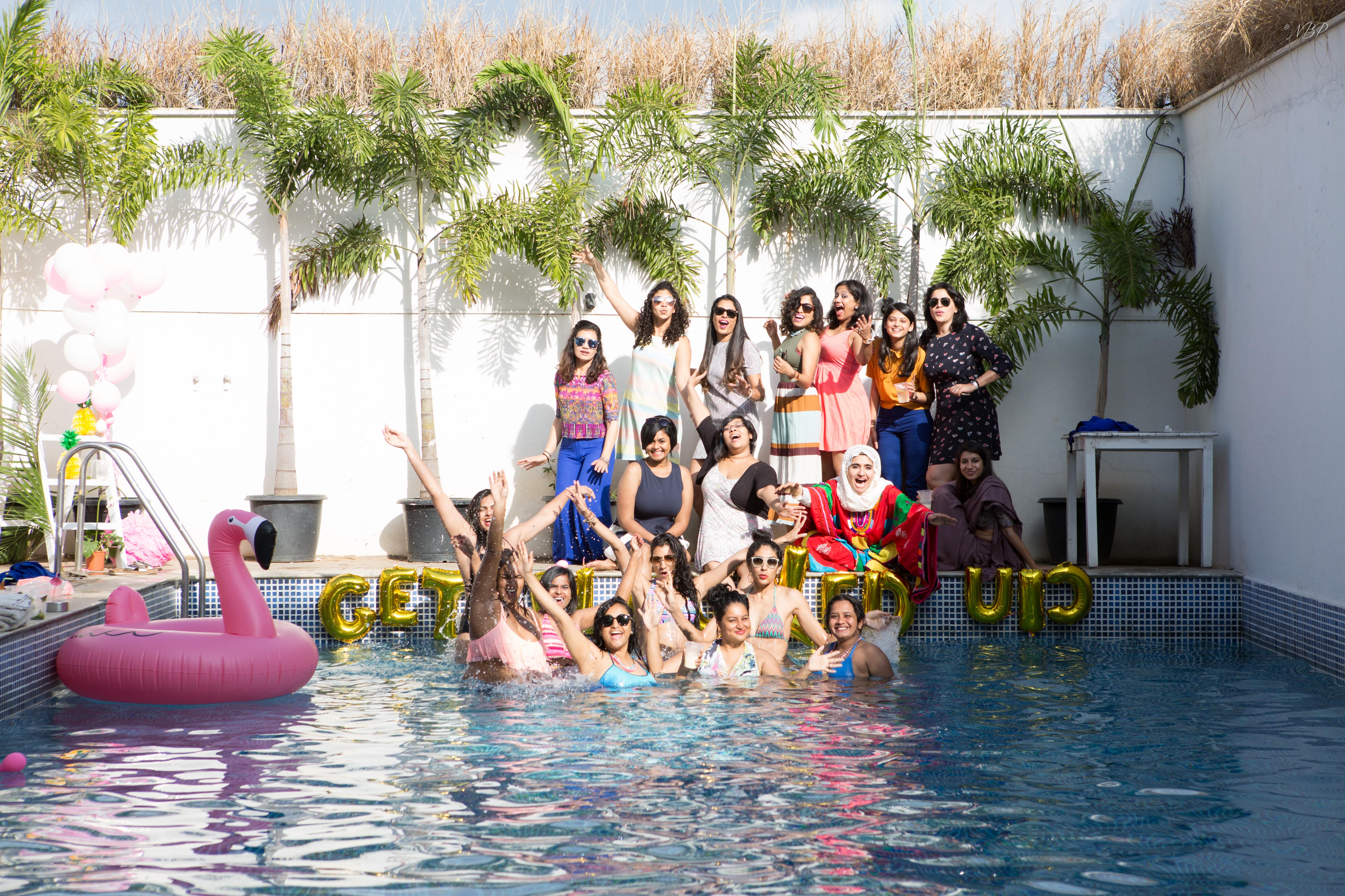 Pool Parties Are What You Need To Kick Off Your Summer Wedding