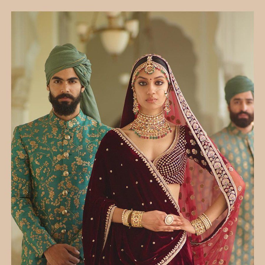 2f5b3da84583 Sabyasachi Drops His Newest Couture & Jewellery Collection on Instagram