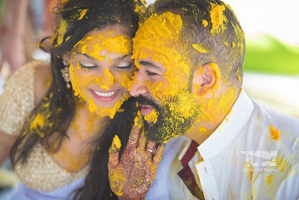 Haldi ideas  wedding nama