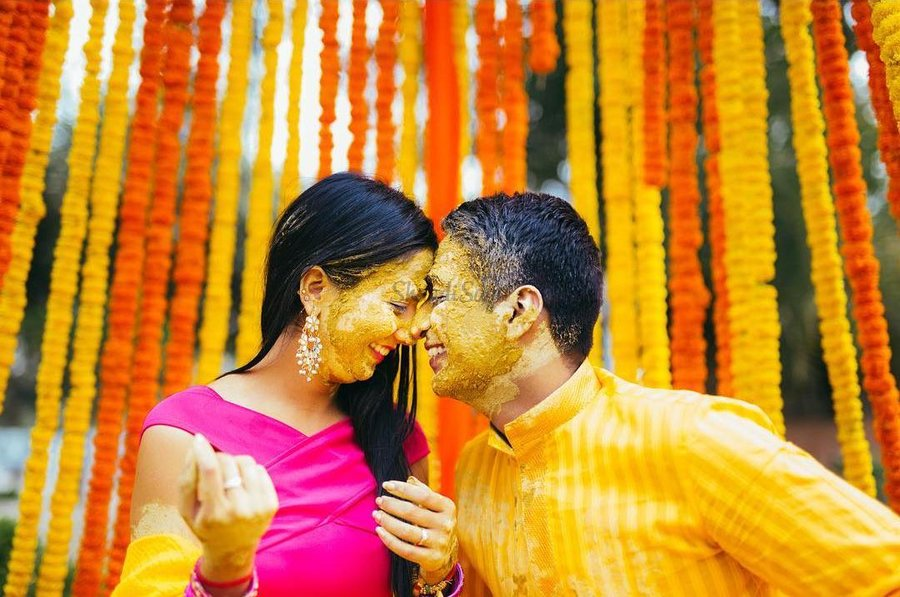 1 Brides And Grooms Firstly Have A Combined Haldi Celebration Rather Than Having It Individually The More Merrier Remember