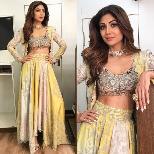 These Shilpa Shetty Ensembles Are Perfect Outfit Inspiration For Brides Except Wedding Day Shaadisaga