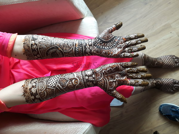 Bridal Mehndi In Jalandhar : Bridal mehndi artists & designs shaadisaga