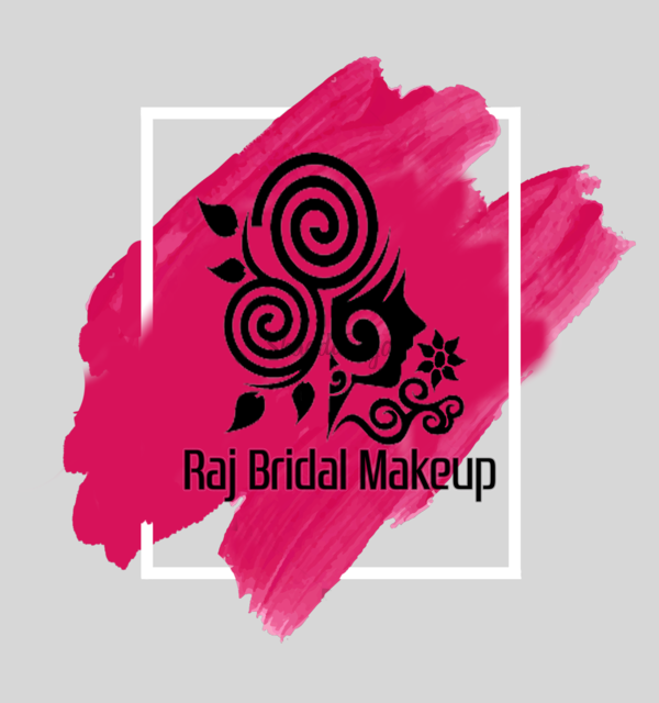 Important logo for rajbridal makeup