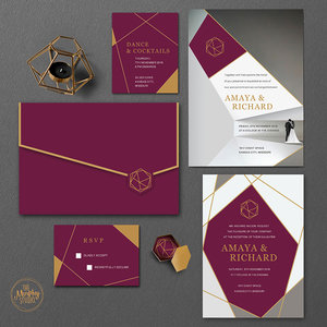 The Murphy Studio Wedding Invitations in Pune ShaadiSaga