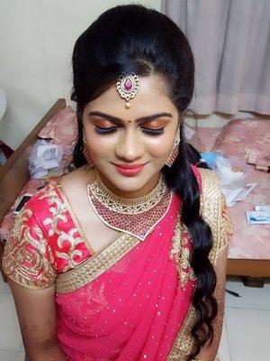 priya s bridal makeup makeup artists in chennai shaadisaga