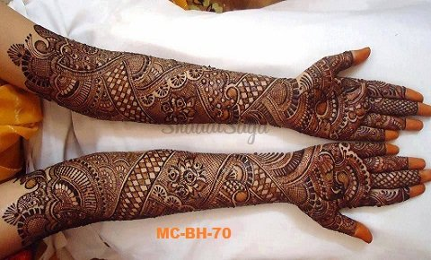 Bridal Mehndi In Jalandhar : Bridal mehndi artists in jaipur & designs shaadisaga
