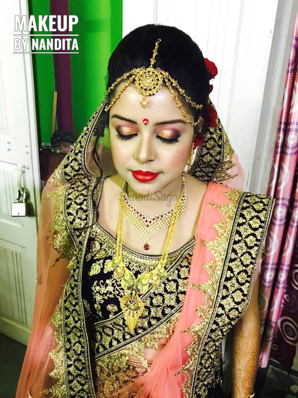 bridal makeup portfolio makeup artist nandita bridal
