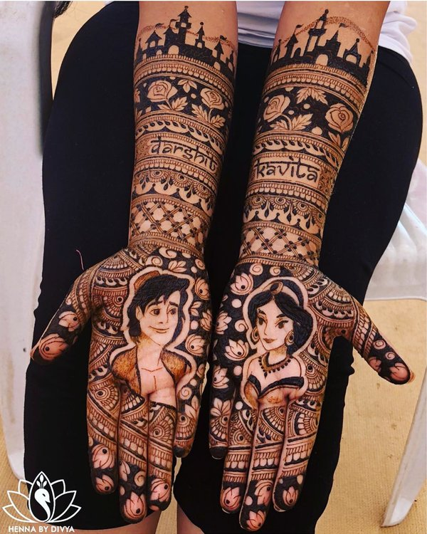 mehndi designs for marriage