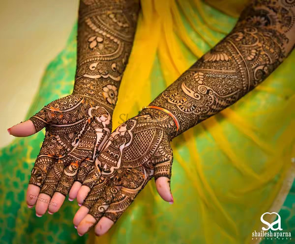 42 mehndi design photo by shailesh