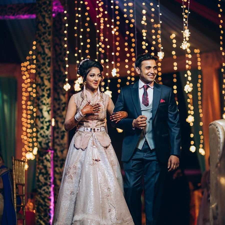 Stunning Gowns Real Brides Wore Instead Of Lehenga For Reception