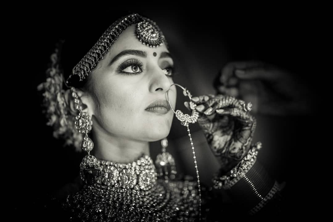 These Timeless Black White Bridal Portraits Will Leave You
