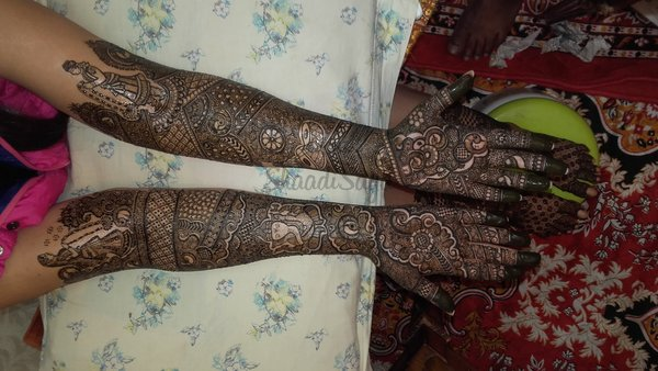 Bridal Mehndi In Jalandhar : Bridal mehndi artists in delhi & designs shaadisaga