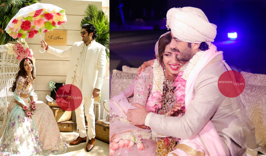 All Beautiful Pictures From Mohit Marwah Antaras Star Studded Wedding In Dubai