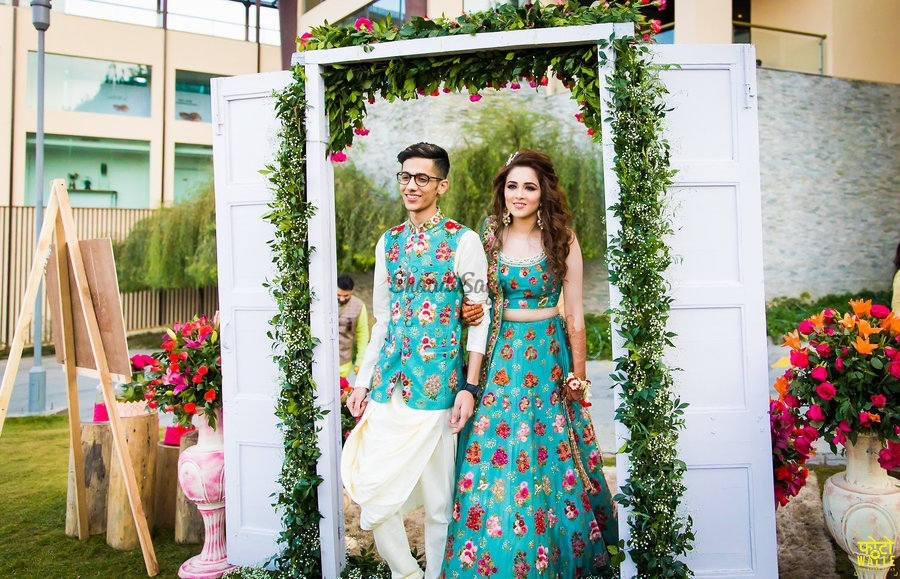 We Spotted Real Brides Colour Coordinating Outfits With Their Brothers Shaadisaga