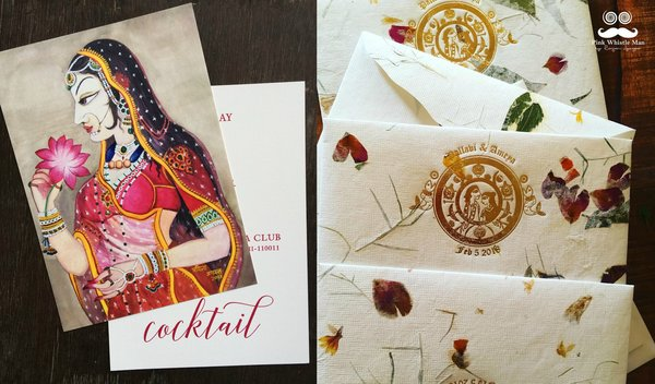 10 Artistic & Innovative Wedding Invites that are NOT E-invites