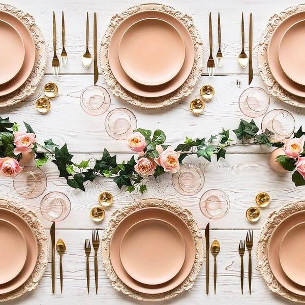 Some Serious Wedding Table-setting Inspiration you ought to Bookmark!