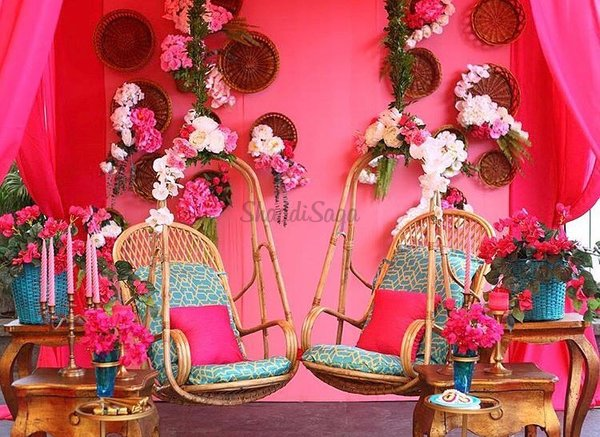 15+ Vibrant Jhoola (Swing) Decor Ideas to Beautify your Mehndi Ceremony