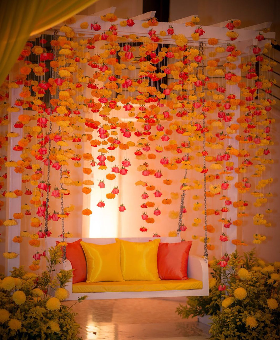 15 Vibrant Jhoola Swing Decor Ideas To Beautify Your