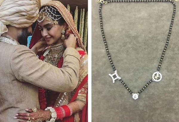 Priyanka Chopra's Mangalsutra is a Sabyasachi Creation & It's Stunning! |  ShaadiSaga