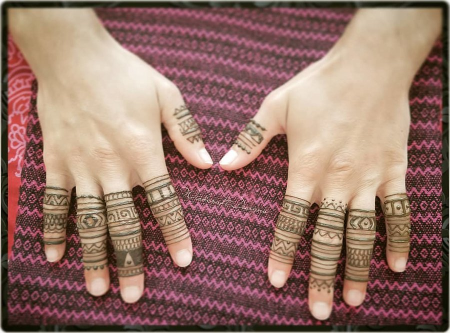 25 Edgy Mehndi Designs For Grooms No They Re Not Couple Initials