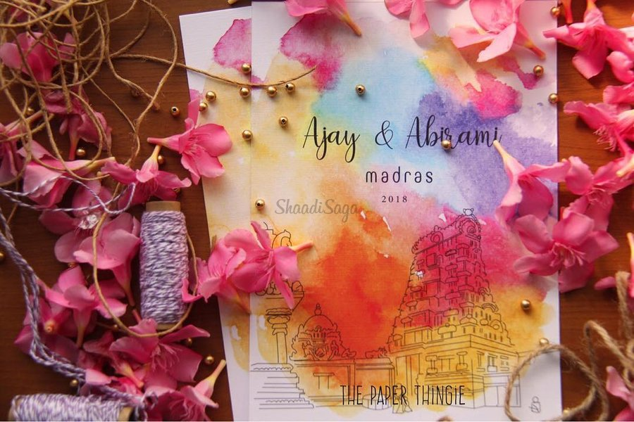 18 Extraordinary Styles For Wedding Invitations That Caught Our