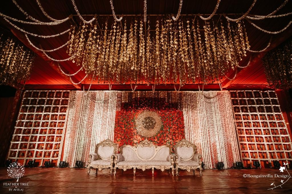 Top 51 Wedding Stage Decoration Ideas (Grand & Simple)   ShaadiSaga