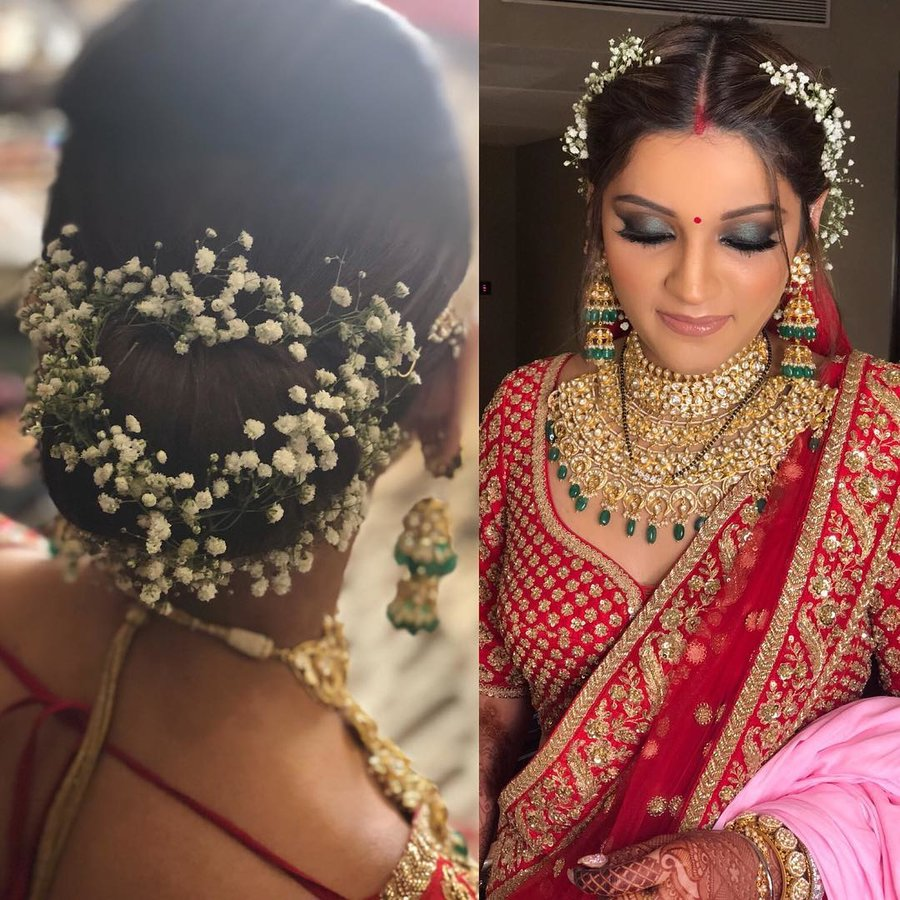 Wedding Hairstyle Gajra: Top 85+ Bridal Hairstyles That Needs To Be In Every Bride