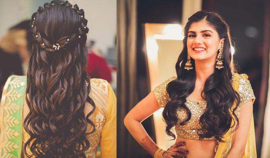 11 Dainty Stylish Hairstyle Ideas For The Bridesmaids Shaadisaga