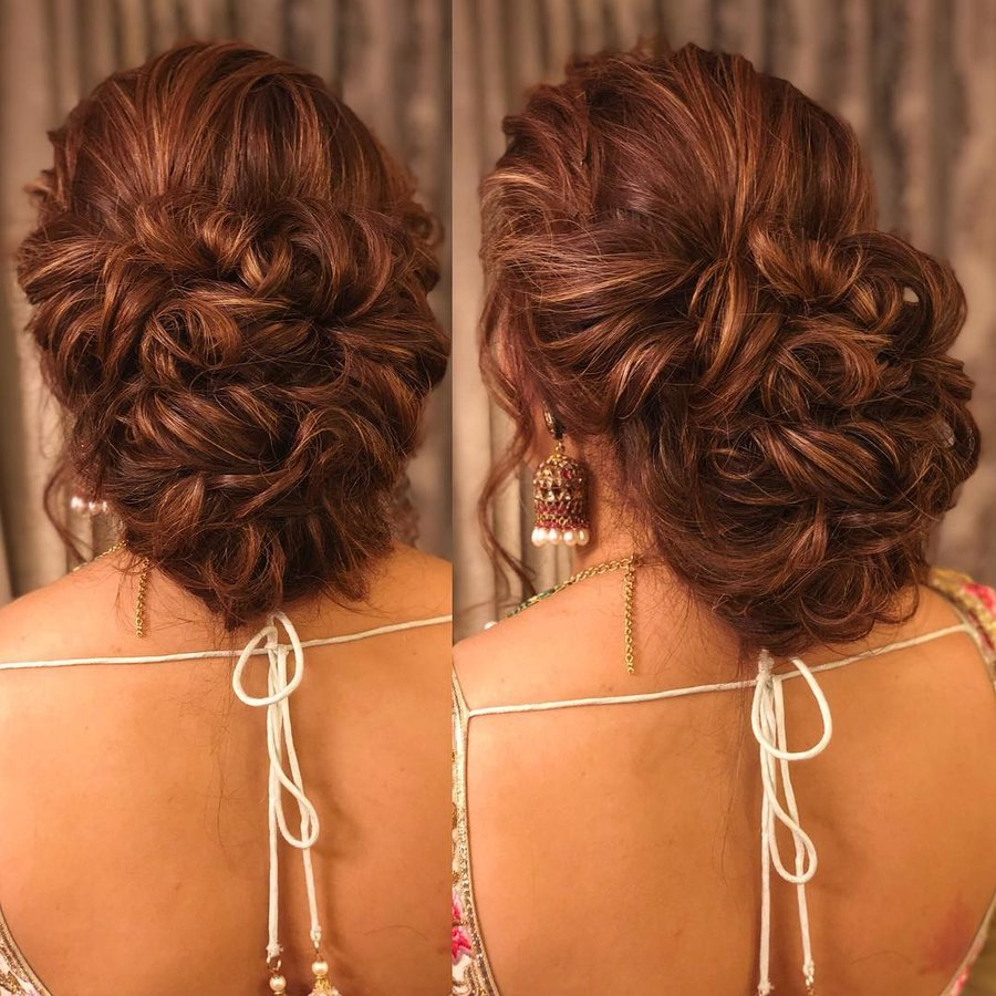 25 Drool Worthy Bun Hairstyles For To Be Brides Shaadisaga
