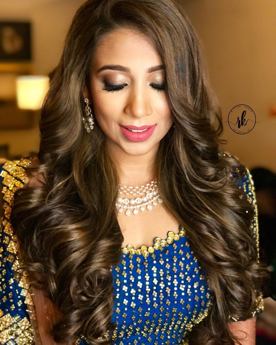 easy & pretty roka function hairstyles ideas you wouldn't want to