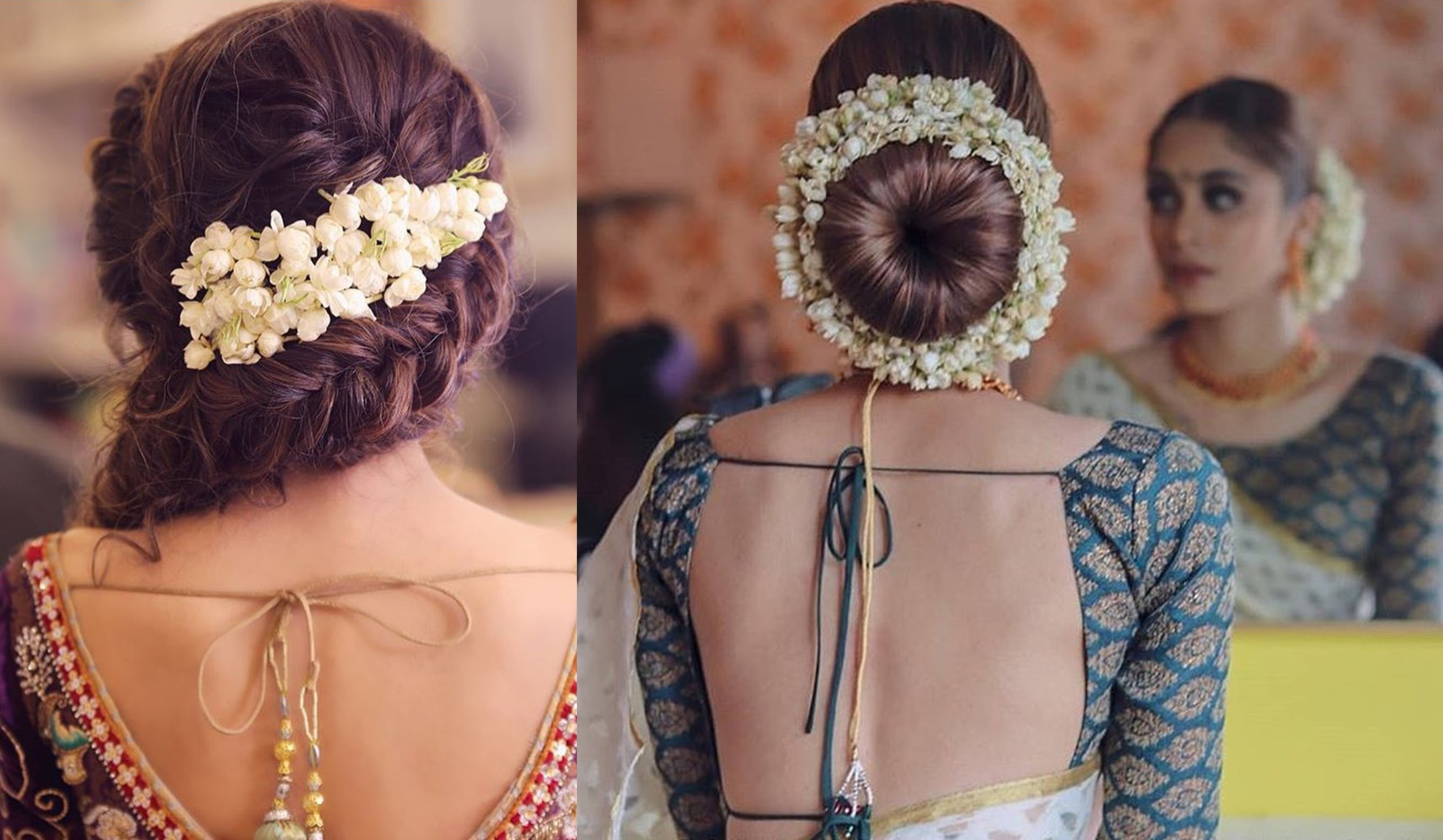 15 Easy Ways To Include Gajra In Your Hairstyle This Wedding Season Shaadisaga