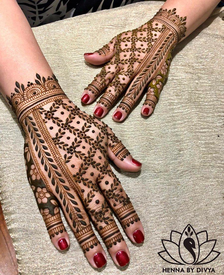 30 Flaunt Worthy Back Hand Mehendi Designs Indian Brides Will Love