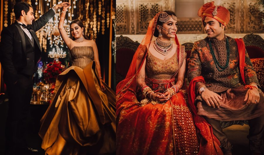 e143e9827f Fashion Stylist's high-on-style Wedding with the most Gorgeous Bridal  Outfits!