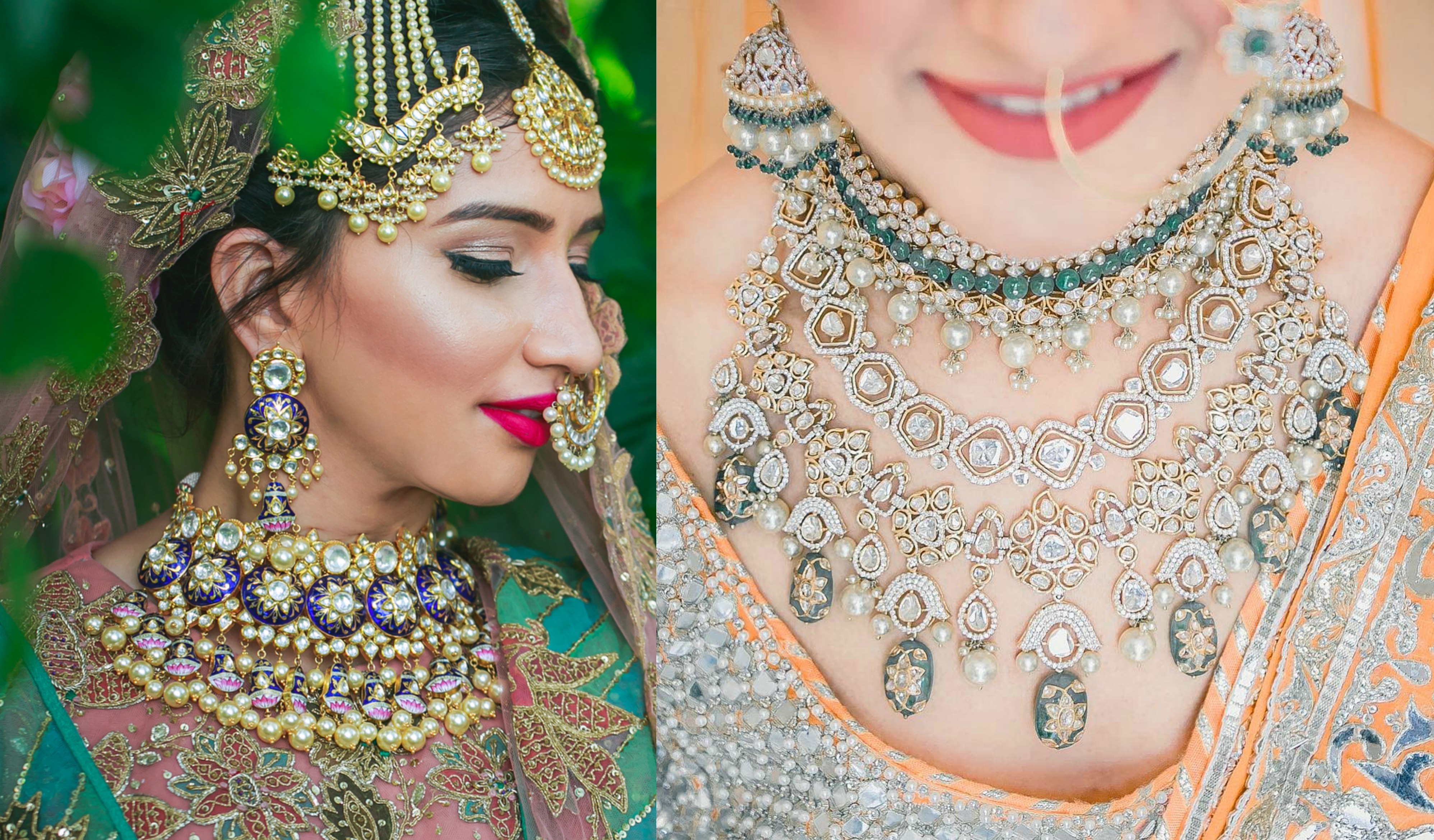 15 Heavy Bridal Necklaces Designs for the Dolled up Bride ...