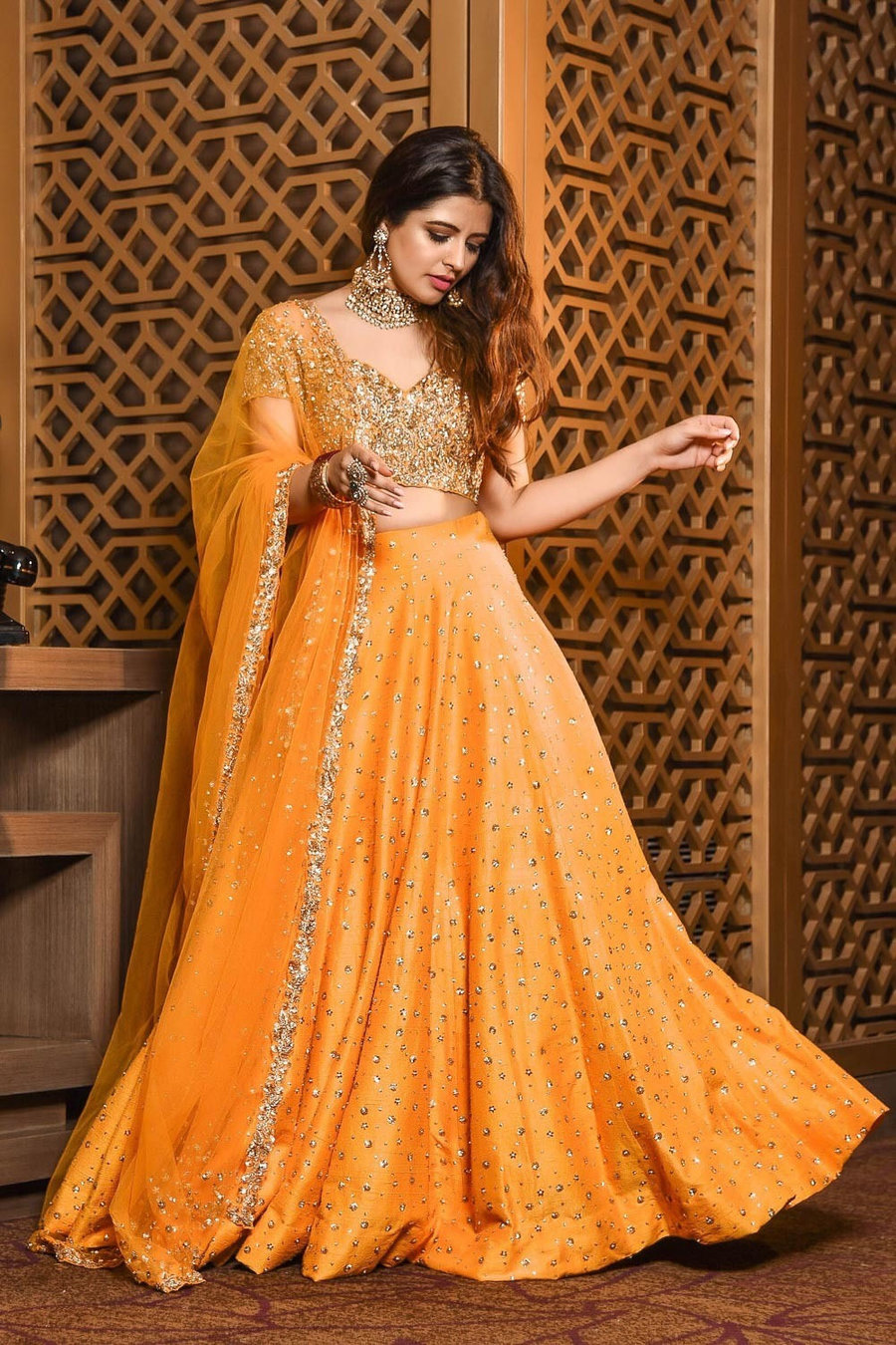 3da9efdec1 10 Haldi Ceremony Outfit Ideas which are Trendy as ever (Under 35K ...