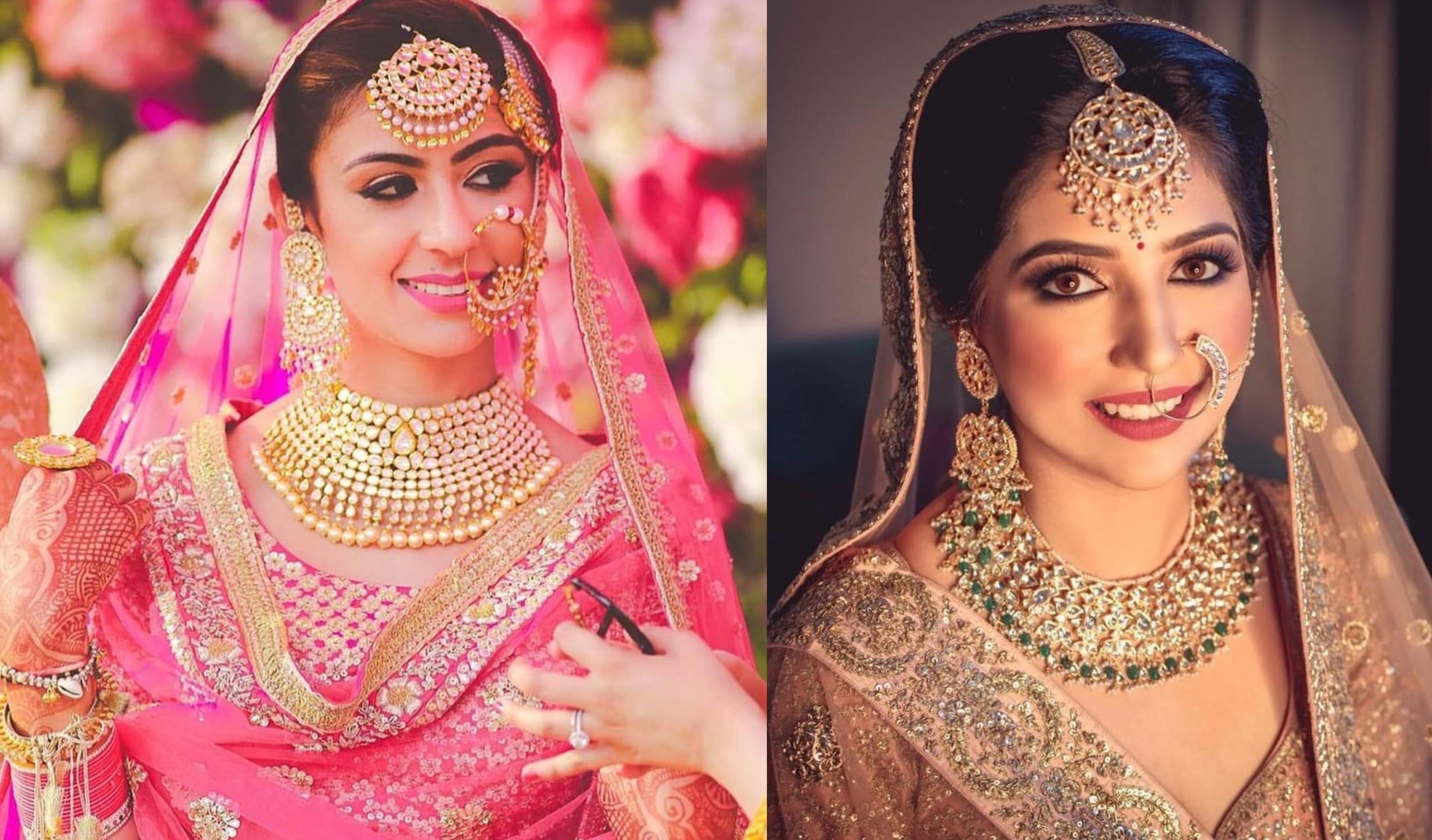 Maang Tikka Designs worn by Real Brides