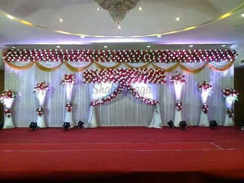 Engagement Stage Portfolio Chandrika Decorations Wedding