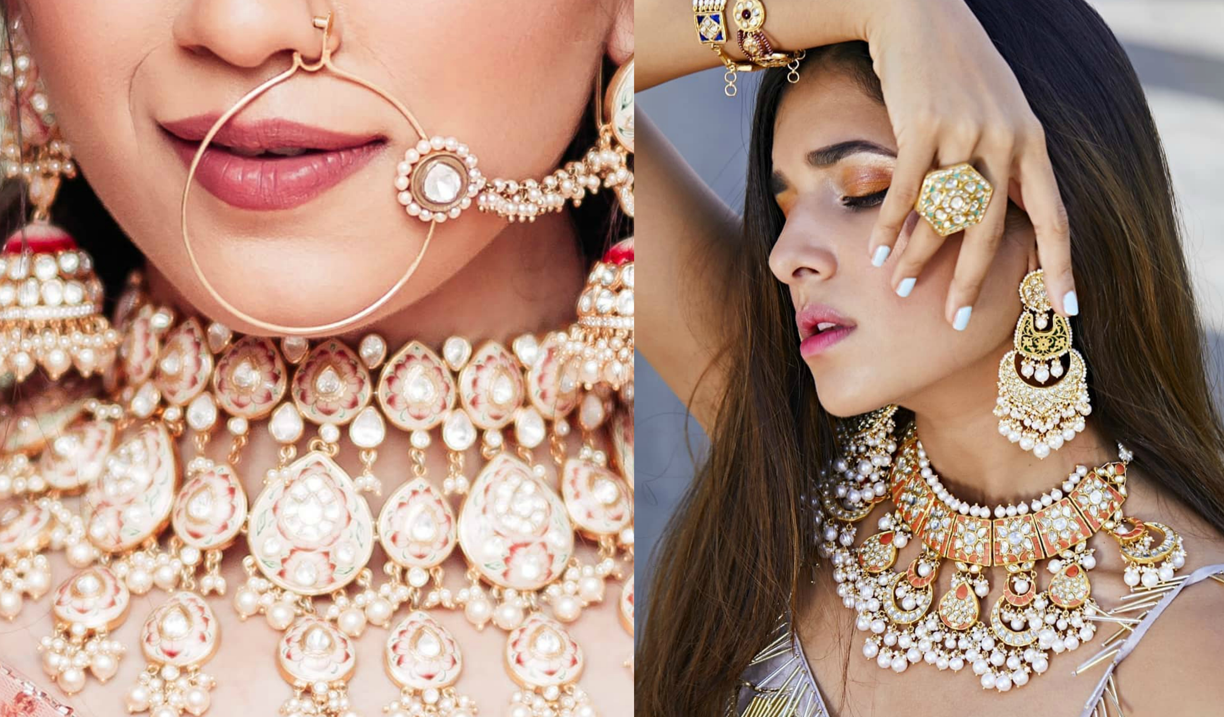 Top 8 Jewellery Brands You Must Follow On Instagram If You Re A Bride To Be Shaadisaga