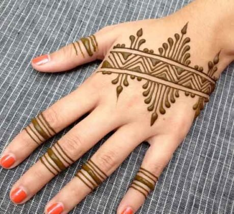 Top 111+ Simple Mehndi Designs