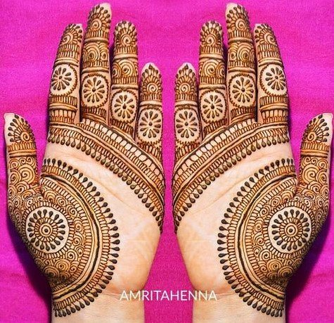 Top 111+ Simple Mehndi Designs